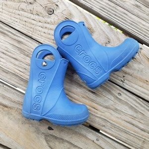 CROCS Kid's Rainboots